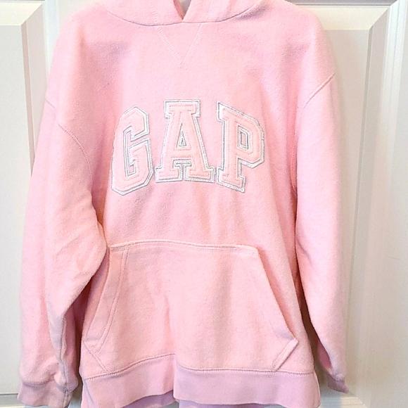 Gap Pink hooded sweatshirt